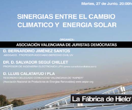 Sinergias entre el cambio climático y la energía solar