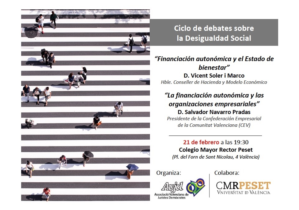 CICLO DE DEBATES SOBRE DESIGUALDAD SOCIAL