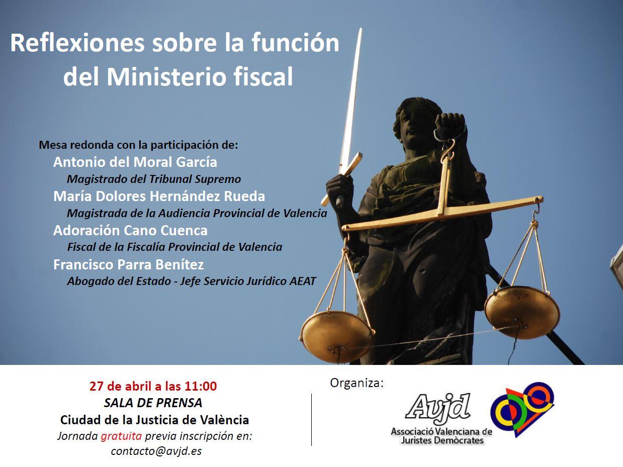 Reflexiones sobre la función del Ministerio fiscal