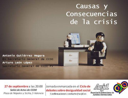 Causas y Consecuencias de la crisis