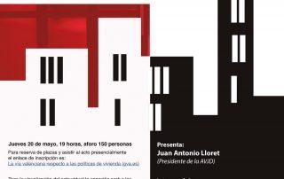 la via valenciana respecto a las politicas de vivienda